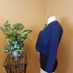 Vintage Jackets & Coats - Vintage Pendleton petite blue blazer